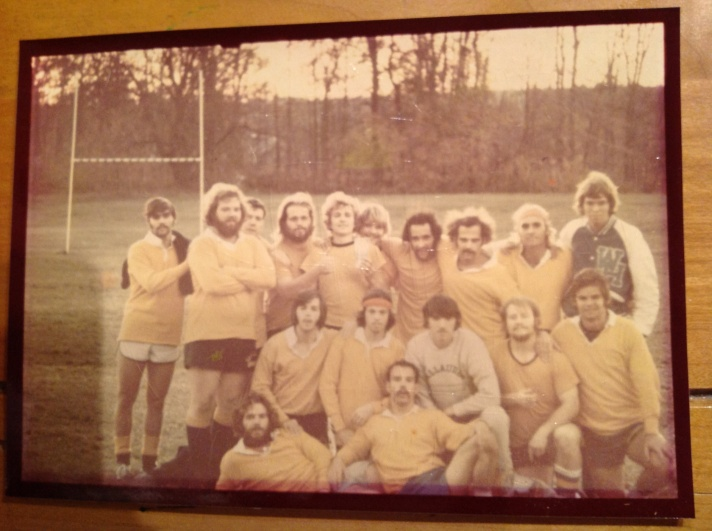 Legends of Gallaudet Rugby Football Club, circa '73-74