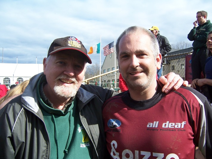 With Terric Stephens of All Deaf RFC