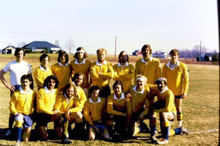 Gallaudet Rugby Football Club First Game March 1973