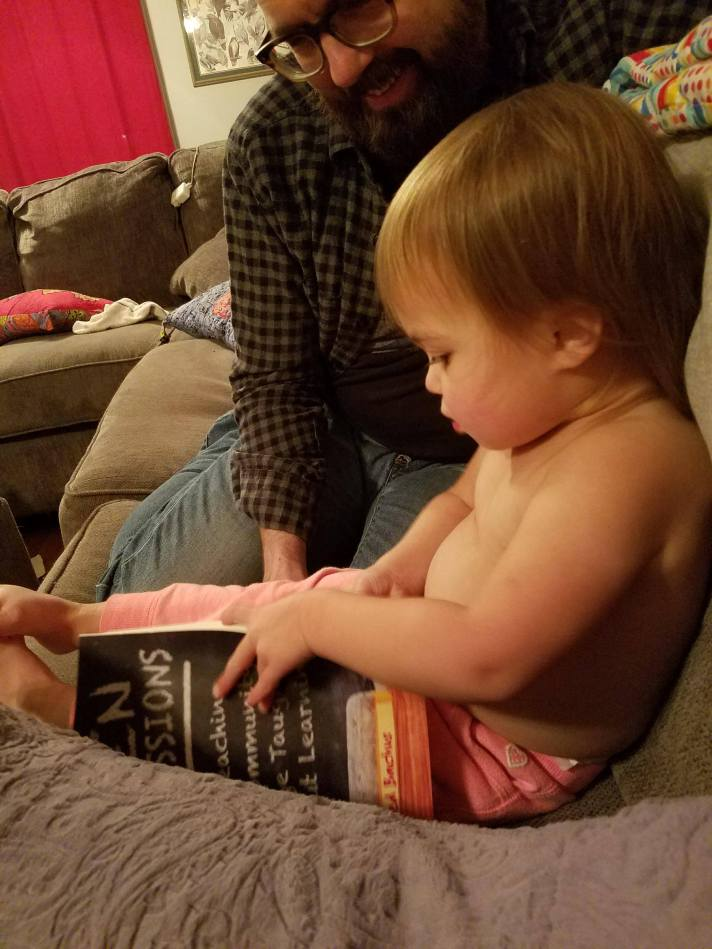 Open Admissions Youngest reader take 2